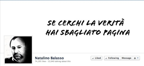 Natalino Balasso FB page